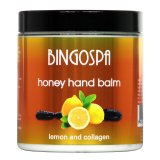 BingoSpa Honey Balm For Hands With Lemon and Collagen 250g  بلسم لليد بالعسل والليمون