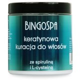 BingoSpa Keratin Hair Treatment With Spirulin and L-cysteine 250g