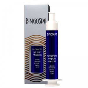 BingoSpa No Needles, No pain Anti-wrinkle Cream with Five Acids, Night Serum 10 ml  سيروم ليلي مضاد للتجاعيد من بنجو سبا, بالاحماض الخمسة